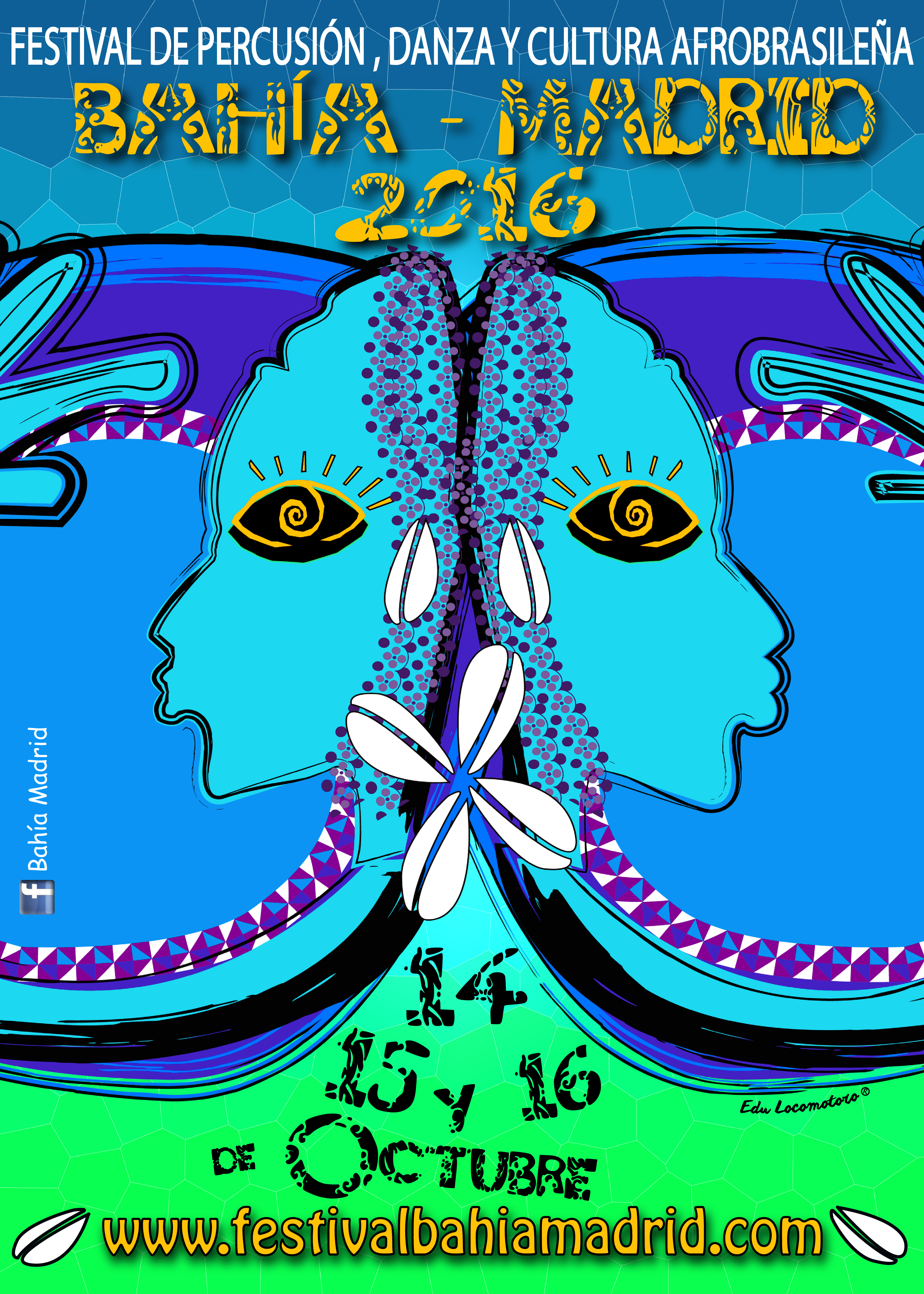 FESTIVAL BAHÍA-MADRID 2016 - Edu Locomotoro (Copyright 2016)