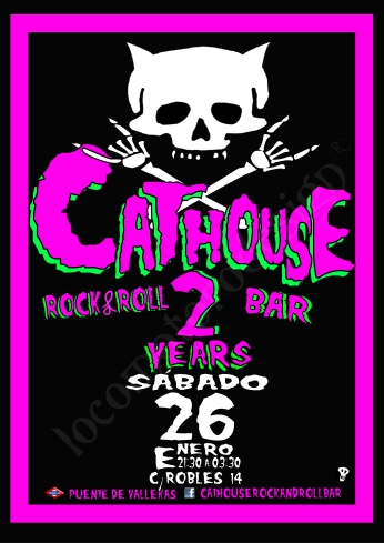 eduardo roncero, edu locomotoro, Cathouse Rock bar, (Copyright 2017)
