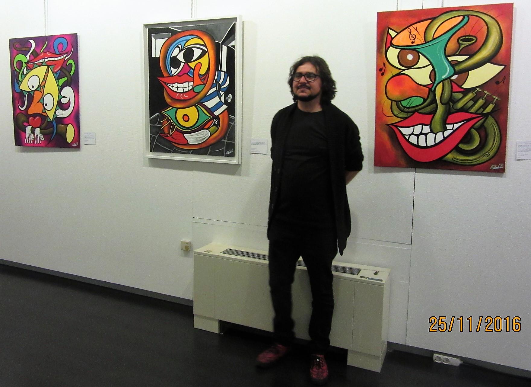 el peor pintor de la historia Edu Locomotoro (Copyright 2016)