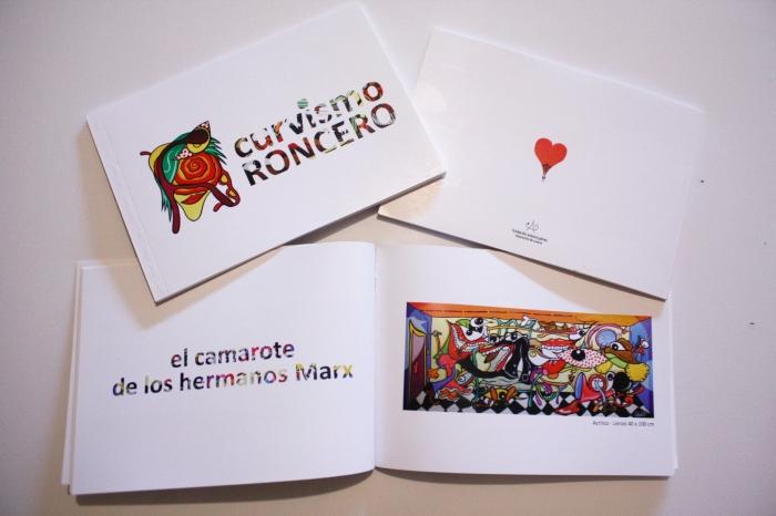 Página oficial del artista y diseñador Eduardo Roncero y sus personajes célebres con su peculiar estilo denominado curvismo.